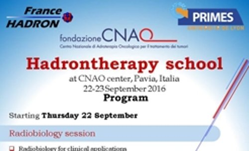 Hadrontherapy School September 2016